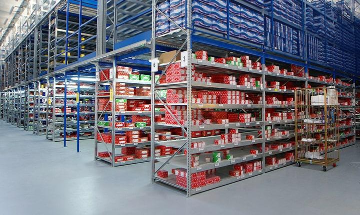 sistema de almacenaje económico y sencillo