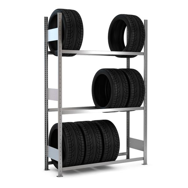 Estantería GalvaPro neumáticos con ruedas
