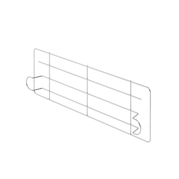 Cerramientos laterales de acero cromado