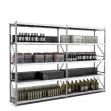 Estantería Picking Galavanizada 250 - Lineal de 2 módulos