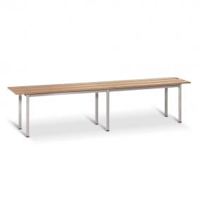 Banco de madera 1000 mm de ancho