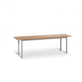 Banco de madera 1500 mm de ancho