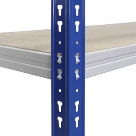 Estantería C-Max 200 azul y gris con aglomerado