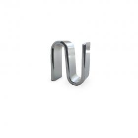 Ganchos unión de acero cromado