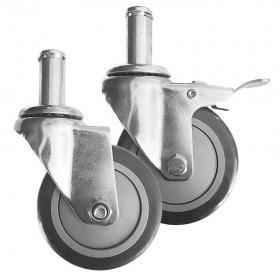 Ruedas de 100 mm de diámetro